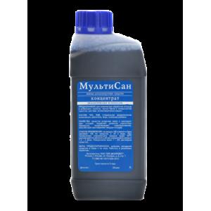 """Жидкость для биотуалета """"Мультисан"""" 1 литр"""
