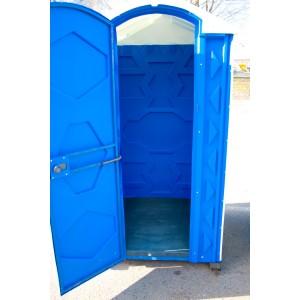 Туалетная кабина с ровным полом