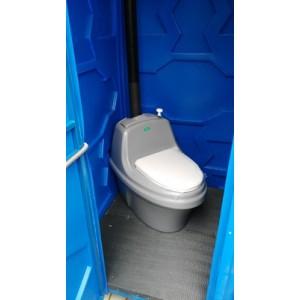 Туалетная кабина с торфяным биотуалетом